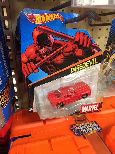 daredevil hot wheels car