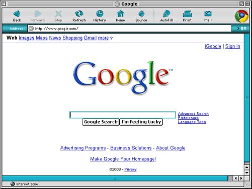 Make Google Homepage On Mac