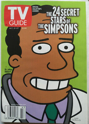 An image of a TV Guide featuring Dr. Hibbert