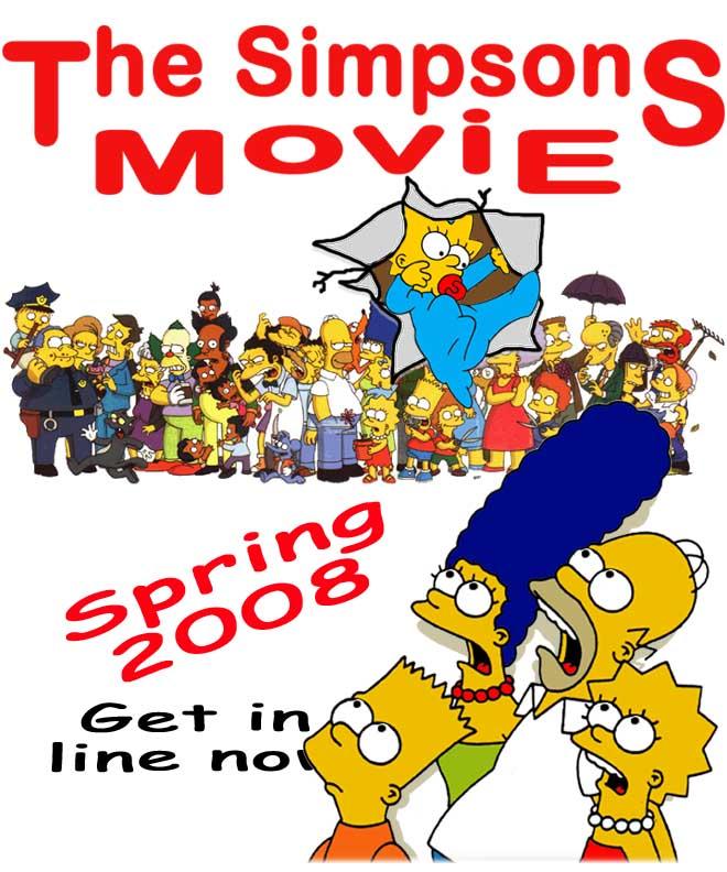 the simpsons movie   rubbercat   simpsons