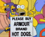 armour hot dogs