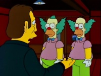 I'm seeing double here! Four Krustys!