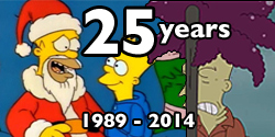 25 years of the simpsons
